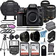 Nikon D7500 20.9 MP DSLR Digital Camera w/AF-P DX NIKKOR 18-55mm f/3.5-5.6G VR & AF-P DX 70-300mm f/4.5-6.