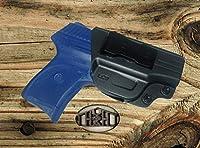 Ruger LC9, Ruger LC9s, Ruger EC9, Ruger EC9s, Ruger LC380, Gun Holster, Concealed Carry, IWB, High Grade Black Polymer