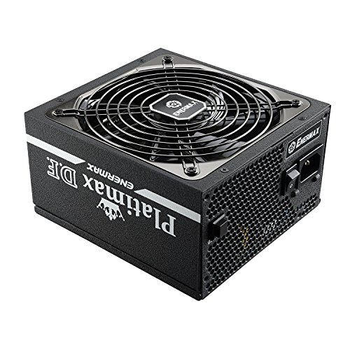 Enermax Platimax D.F. 80 PLUS Platinum Certified Full Modular 1200W Power Supply with Amazing DFR Technolohy and D.F. switch, Individual Sleeved Cable, 10 years Warranty , EPF1200EWT by Enermax (Image #1)
