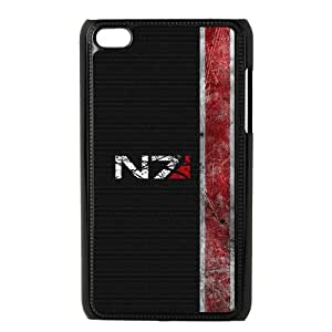 Mass Effect iPod Touch 4 Case Black DIY Gift xxy002_0359062