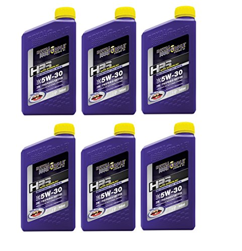Royal Purple 31530 HPS Street Synthetic Motor Oil 5W30 Pack of 6 Quarts by Royal Purple