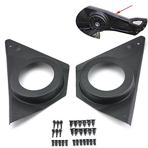 KEMIMOTO, Pair of Door Speaker Pod for RZR S 900 RZR Speaker Cover for XP 1000 ACE 2015 2016 2017