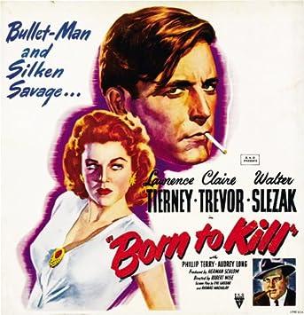 Amazonde Born To Kill Movie Poster Plakat 28x44cm