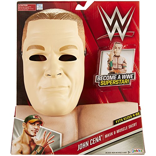 WWE John Cena Mask & Muscle Shirt Dress Up (Wwe John Cena Costume)