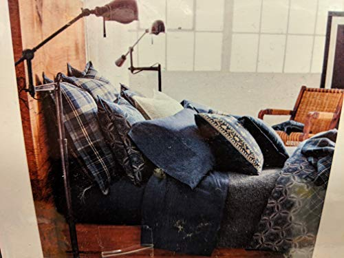 Ralph Lauren Artisan Loft Moore Blue Duvet Cover Full/Queen