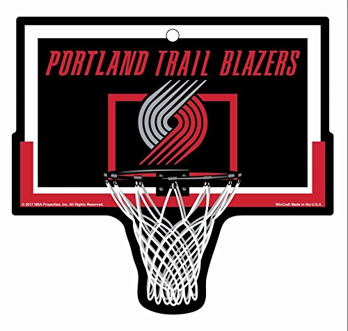 Portland Trail Blazers Basketball Hoop Sign NBA