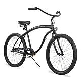 Firmstrong Bruiser Hombre Beach Cruiser–Bicicleta, 26-Inch