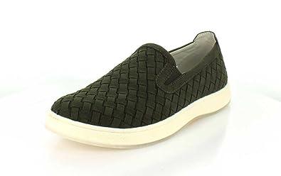 5a0f43aa10bf0 Amazon.com | Aureus Men's Henson Microfiber Loafers | Fashion Sneakers