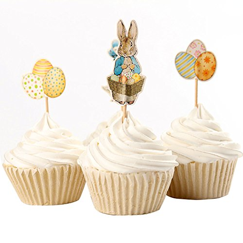 Easter Themed Decorative Cupcake Topper product image