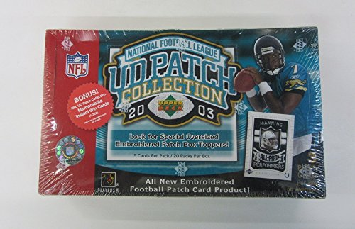 2003 Upper Deck Patch - 2003 Upper Deck Patch Collection Football Box (Hobby)