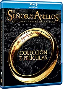 Trilogía El Señor De Los Anillos Cinematográfica Blu-Ray [Blu-ray]