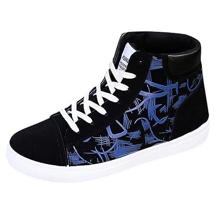 00e510f8b8f8d Amazon.com: Men's High-top Sneakers,Mosunx Athletic Boys Graffiti ...