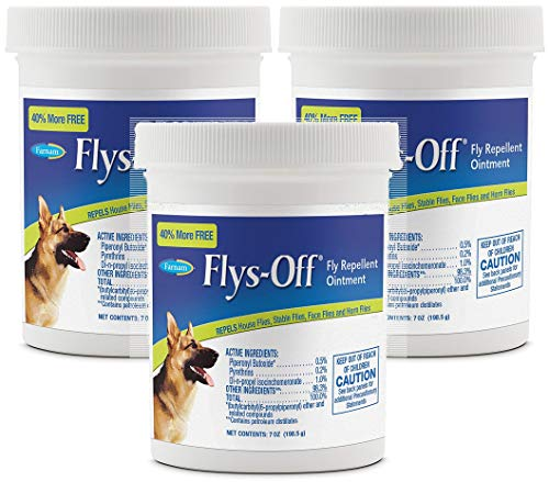 Farnam Flys-Off Fly Repellent Ointment (3 Pack - 7 oz)