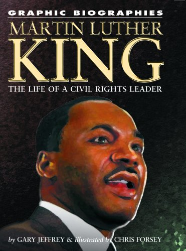 Martin Luther King, Jr.: The Life of a Civil Rights Leader (Graphic Biographies) by Rosen Central (Image #1)