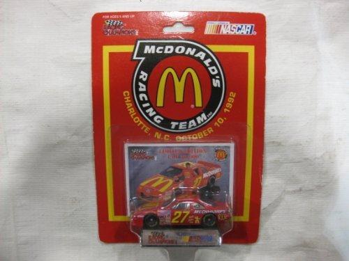 Racing Champions NASCAR McDonald's Racing Team #27 Hut Strictlin Charlotte, NC October 10, - Hut Nc