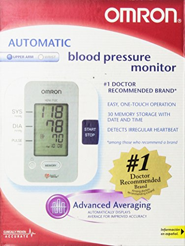 Omron HEM-712C Automatic Blood Pressure Monitor with IntelliSense