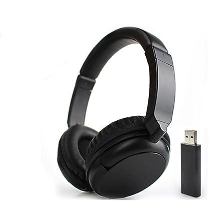 Deerbird® Cómoda estéreo de alta fidelidad auricular inalámbrico de FM de audio de 3.5mm