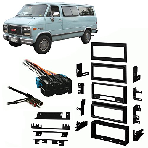 1993 Gmc Van - Fits GMC Full Size Van 1988-1995 Single DIN Harness Radio Install Dash Kit