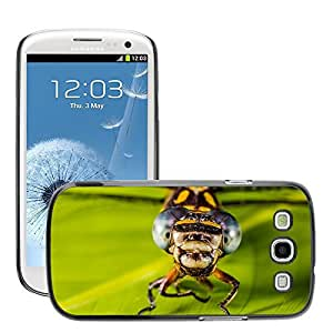Super Stella Slim PC Hard Case Cover Skin Armor Shell Protection // M00147159 Dragonfly Insect Animal Close Wing // Samsung Galaxy S3 S III SIII i9300