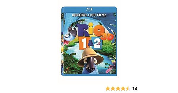 Rio 2 - Missione Amazzonia Duo Pack 3D 2 Blu-Ray ;Rio 2;Rio + ...