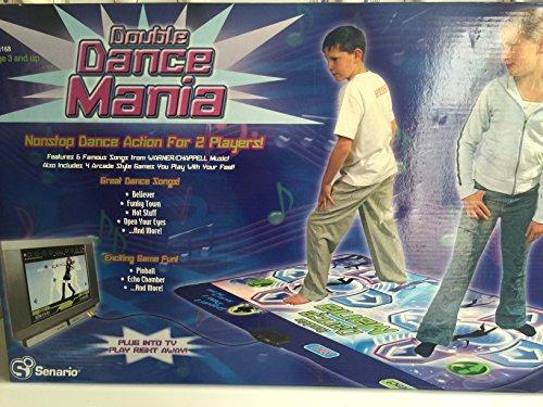 Scenario Double Dance Mania Plug N Play Dance Mat