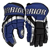 Warrior Senior Covert DT2 Hockey Glove, Blue/Black/Silver, 15-Inch