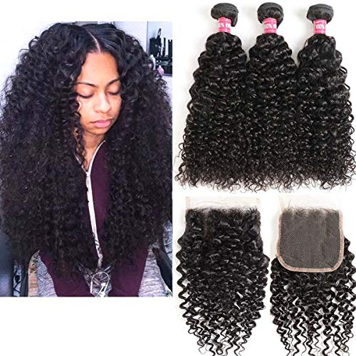sew in curly hair extensions - 4