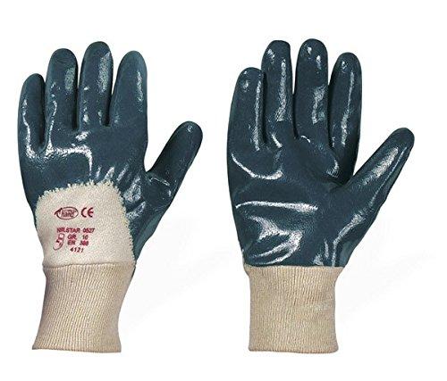 Leipold Paar Nitril-Handschuhe blau, Gr. 10, 120 Stück