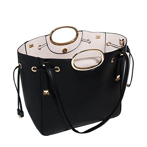 Women Valeria Handbag Valeria Parfois Handbag Parfois Valeria Parfois Black Black Women Handbag Black Women w8pIA6Zq