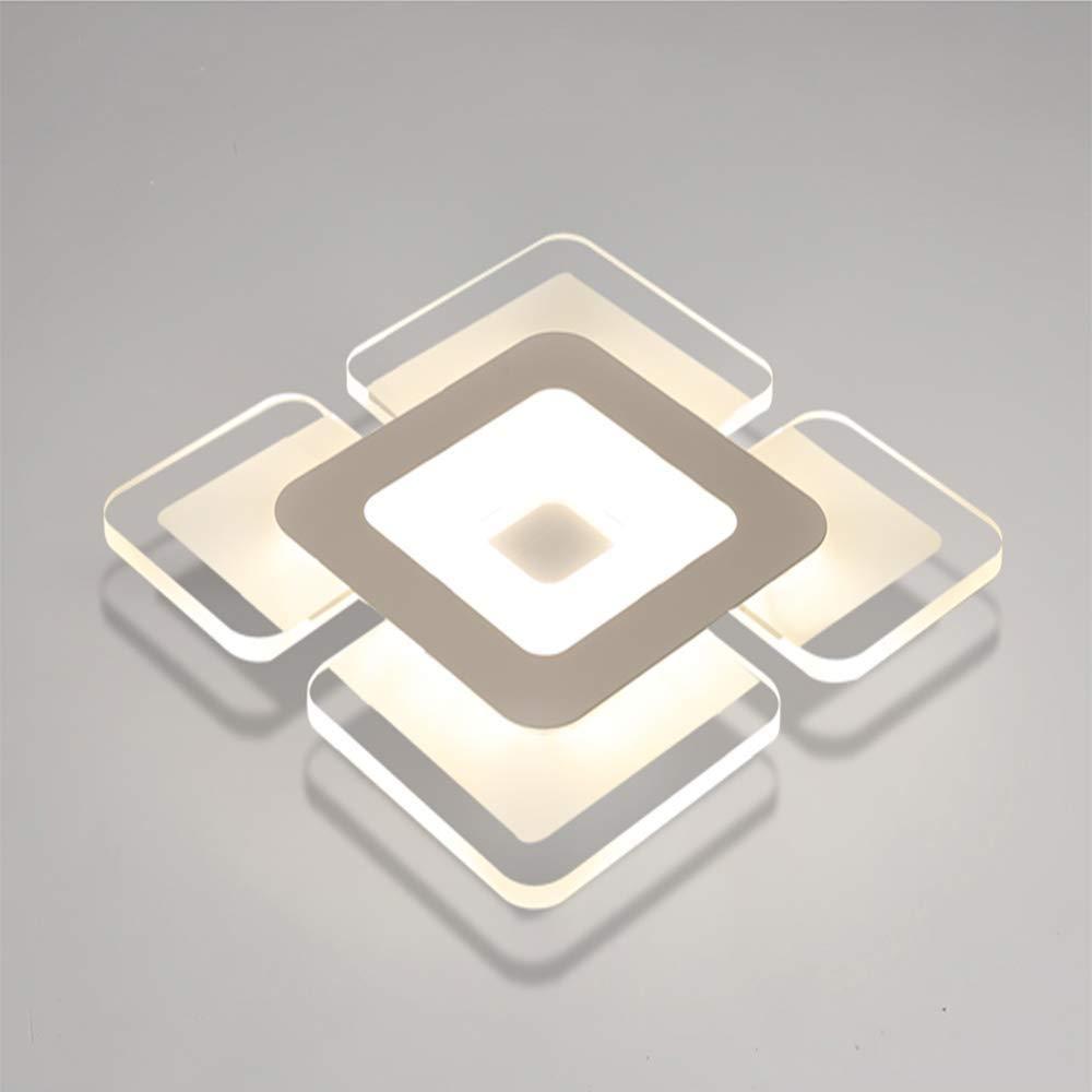 導かれた天井灯、居間の寝室の台所極めて薄い天井ランプのための現代長方形は白いシャンデリアを導きました (色 : 無段階調光, サイズ : 60X40cm さいず : 42 無段階調光, cm 42 cm) B07Q5SBM8M Coolwhite 60X40cm 60X40cm|Coolwhite, レイダース:7d5bc15c --- harrow-unison.org.uk