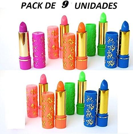 Pintalabios Magicos Marroquies, Arabes HARE Henna Argan .:Pack de 9 Unidades:..: Amazon.es: Videojuegos