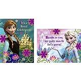 Hallmark Frozen Invitation and Thank You (8 each)