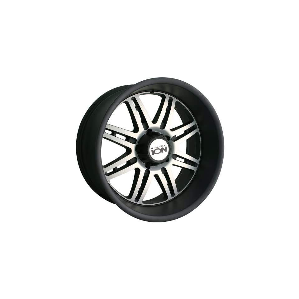 Ion Alloy 183 Matte Black Wheel with Machined Face (20x12/6x139.7mm)