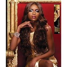 Alexander - Genuine 100% Remi Human Hair Yaki Weave (10 INCH, S4/30 - LIGHT BROWN/MEDIUM AUBURN) by Sensationnel