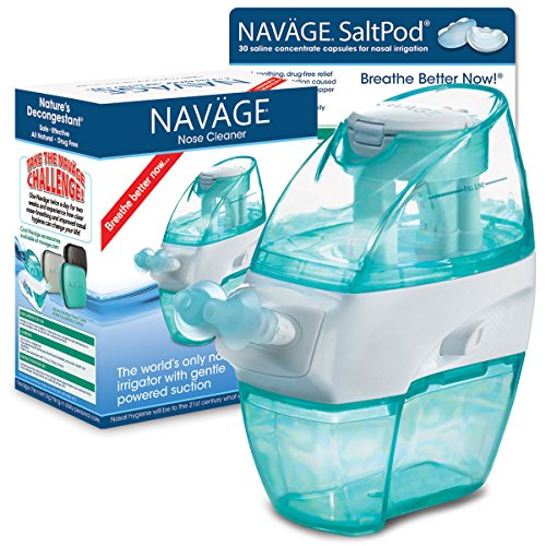 Navage Nose Cleaner and 30 SaltPod Capsules