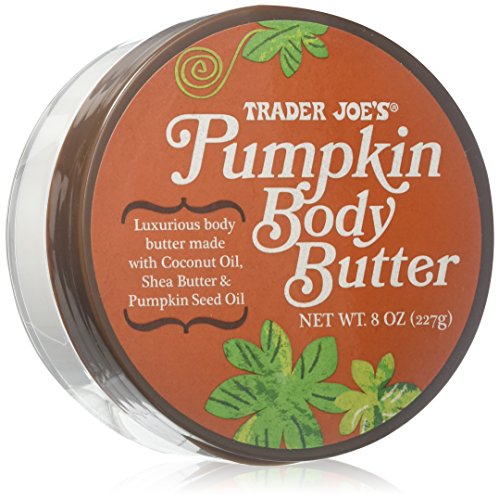 - Trader Joes Pumpkin Body Butter - Luxurious Body Butter Made with Coconut Oil, Shea Butter & Pumpkin Seed Oil - 8oz., 227g.