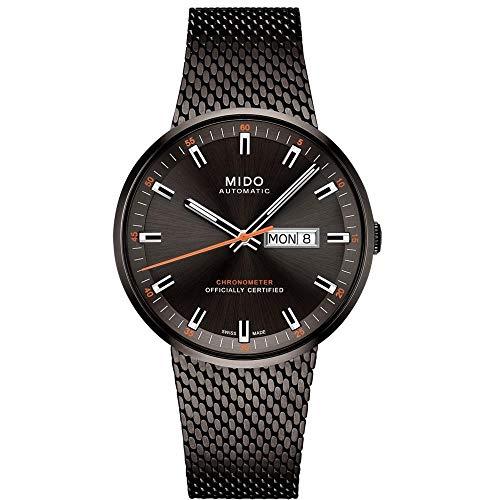 Mido Commander Icone Reloj de Hombre automático 42mm M031.631.33.061.00: Amazon.es: Relojes