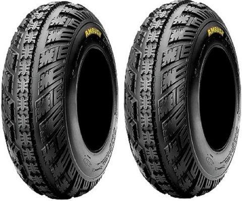 Honda 400ex Tires (TWO NEW CST AMBUSH SPORT ATV Front TIRES (2) 22-7-10 , 22X7-10 Honda 250R 400EX 450R ATC TRX Yamaha Raptor YFZ450)