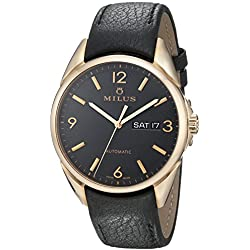 Milus Men's TIRC400 Stainless Steel Automatic Dress Watch