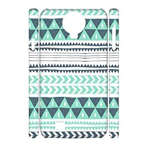 Green Tribal Pattern 3D-Printed ZLB556757 Unique Design 3D Cover Case for SamSung Galaxy S4 I9500