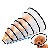 Pet Protective Collar Dog Neck Cone Recovery Cone Collar for Anti-Bite Lick Surgery