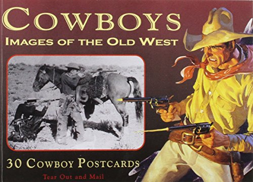 Price comparison product image Cowboys: Images of the Old West: Book of 30 Postcards
