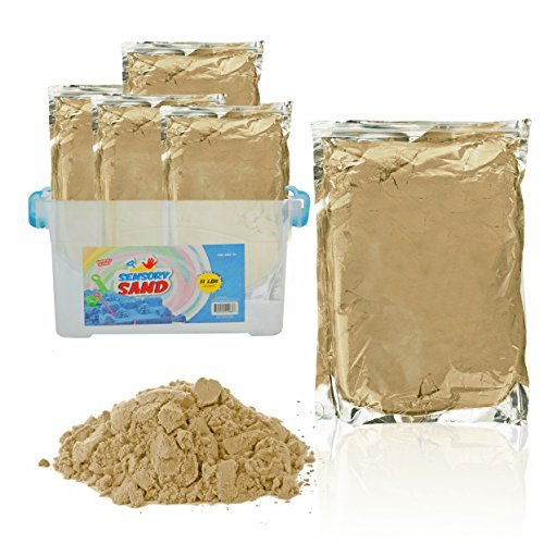 Sensory Sand, 11 POUNDS - ECO Friendly, Beige, with -