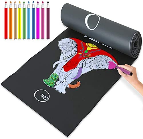 Color in Kids Yoga Mats