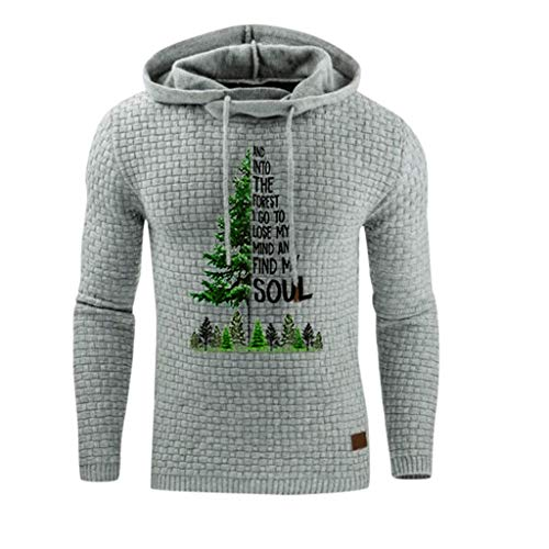 In Our Town Of Halloween Lyrics (WOCACHI Mens Xmas Hoodies Sale, Slim Fit Hooded Lightweight Active Pullover Outdoor Sports Sweatshirt Casual Solid Color 2019 2020 Winter Fall Man Christmas Tree Forest Print Sweater)