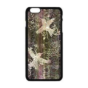 "The Smallest Bird Hummingbird Flying Around Flowers iPhone 6 Plus 5.5""Screen Hard Plastic Phone Case"