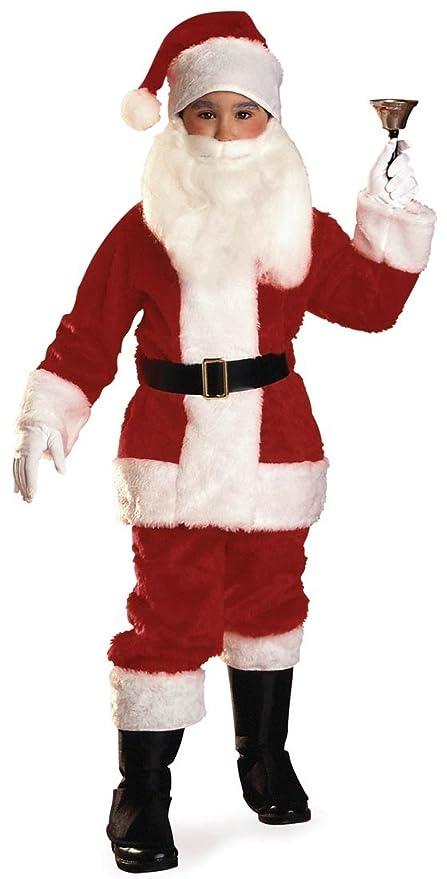 Amazon.com: Peluche de Papá Noel disfraz traje – Mediano ...