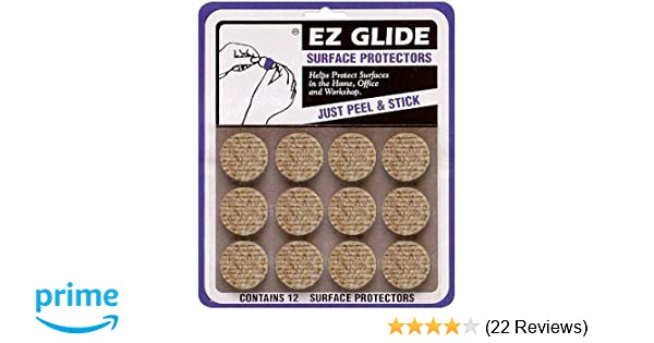 "3 Cards EZ Glide 3-1//2/"" x 5//8/"" Sand Strip Surface Protectors Total 18 Pieces"