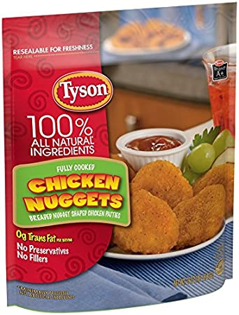 Tyson Chicken Nuggets 32 Oz Pack Of 2 Amazon Grocery Gourmet