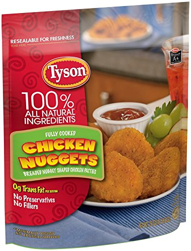 TYSON CHICKEN NUGGETS 32 OZ PACK OF - Stores 2 Tysons